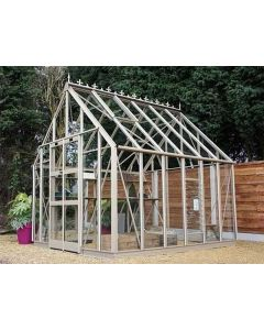 The Zenith range of greenhouses, is a design which is sure to create quite an impression in any garden.