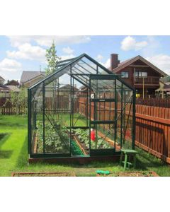 Elite Belmont Package Green Finish Toughened Glass.