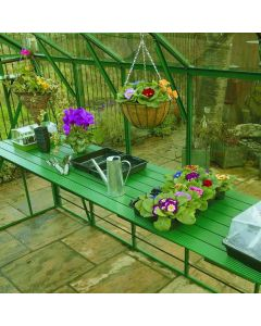 Diamond Greenhouse Coloured Staging