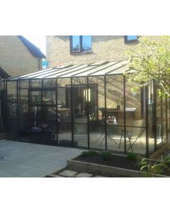 The Elite Titan K800 Lean-To greenhouse