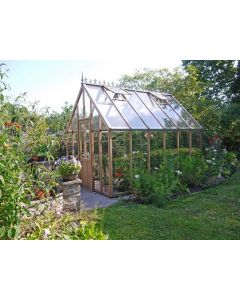 "Alton Harrow Cedarwood Victorian Greenhouse 9'11"" (3007mm) wide"