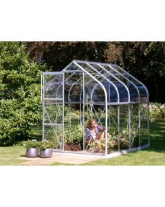 """Vitavia Orion 3800 Greenhouse - 6'3"""" wide - Horticultural or Toughened Glass"""