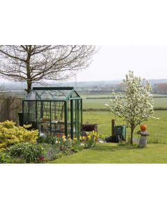 "Robinsons Regatta Powder Coated Greenhouse 5'4"" (1662mm) wide"