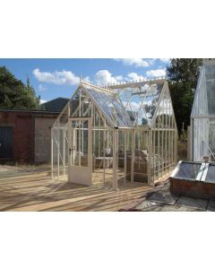 """Robinsons Reicliffe Victorian greenhouse 15'9"""" (4791mm) deep"""