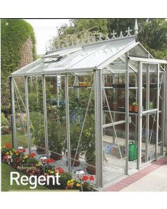 Robinsons Regent Glass to Ground Greenhouse