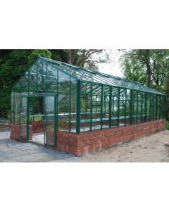 "Robinsons Renown Powder Coated Greenhouse 14'8"" (4454mm) wide"
