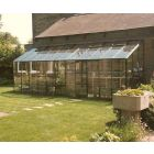 Kensington 6 Lean-To  Coloured Finish Polycarbonate Glazing