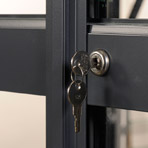 Elite Greenhouse Door Lock and Key