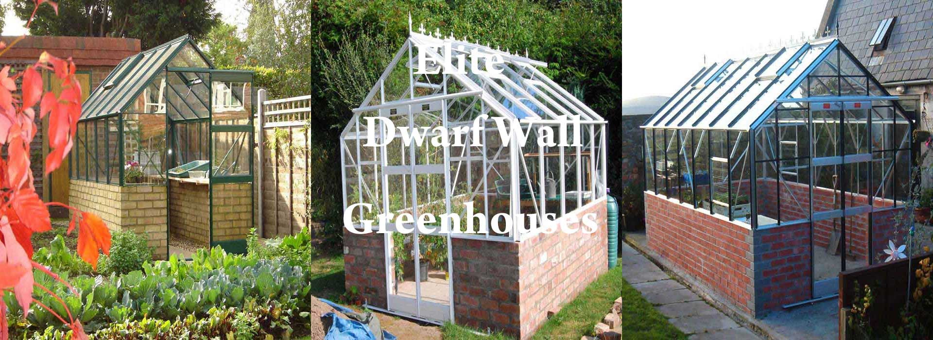 Elite Dwarf Wall Greenhouses