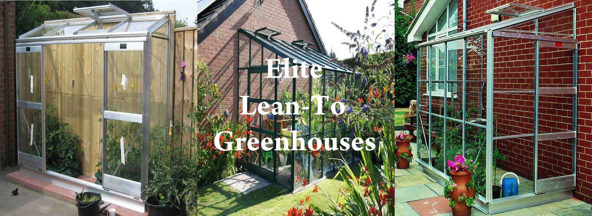 Elite Lean-To Greenhouses
