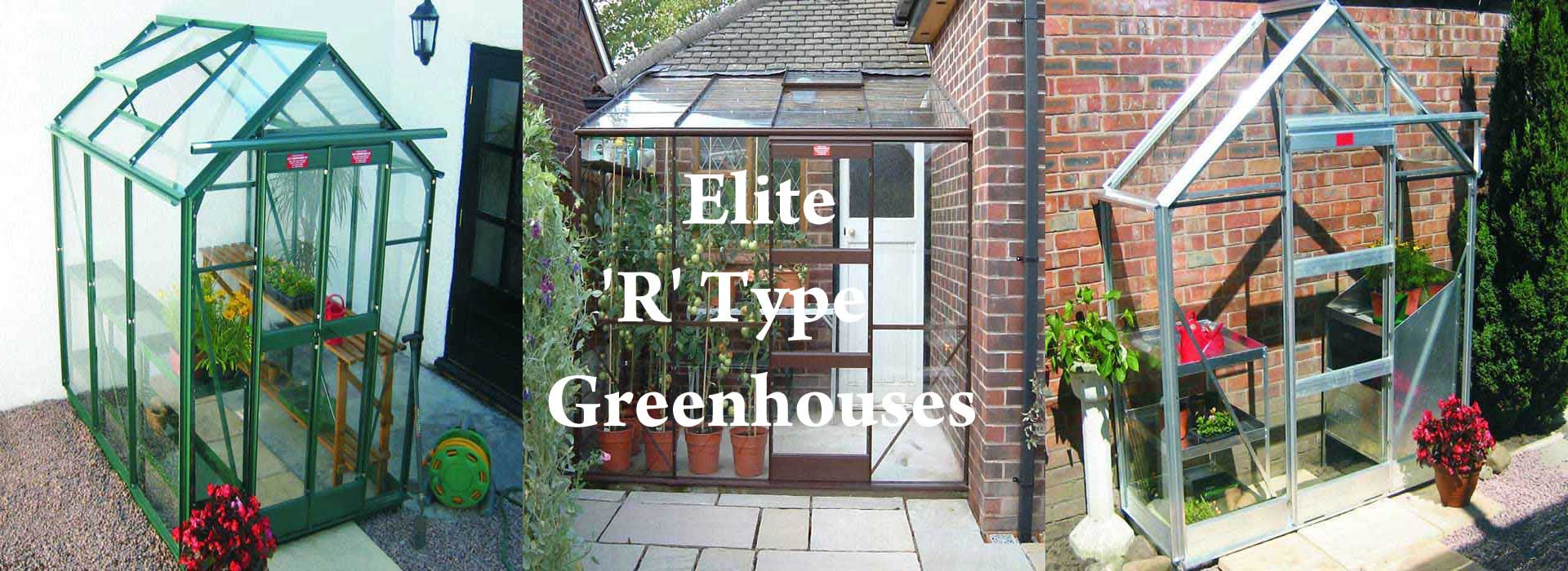 Elite 'R' Type Greenhouses