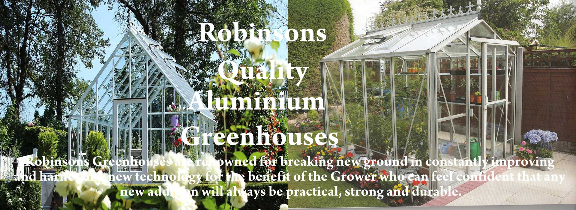 Robinsons Greenhouses Banner