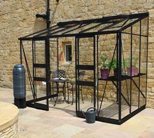 Eden Broaday Lean-To Greenhouse
