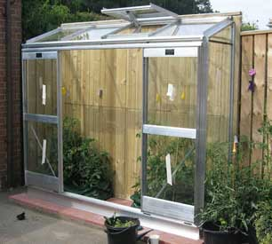 Elite Easygrow Lean-To Greenhouse