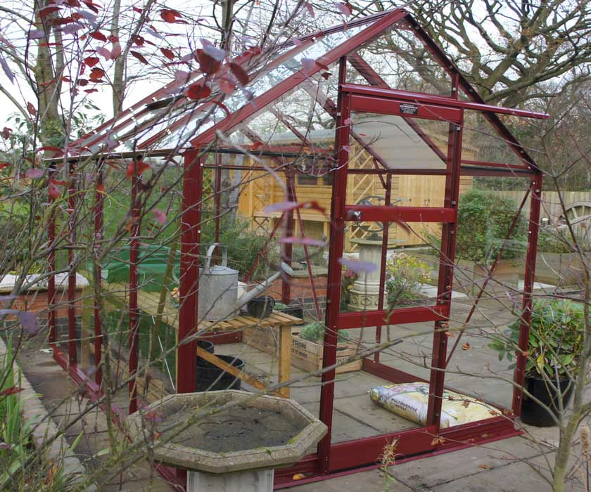 Elite Berry Coloured Greenhouse