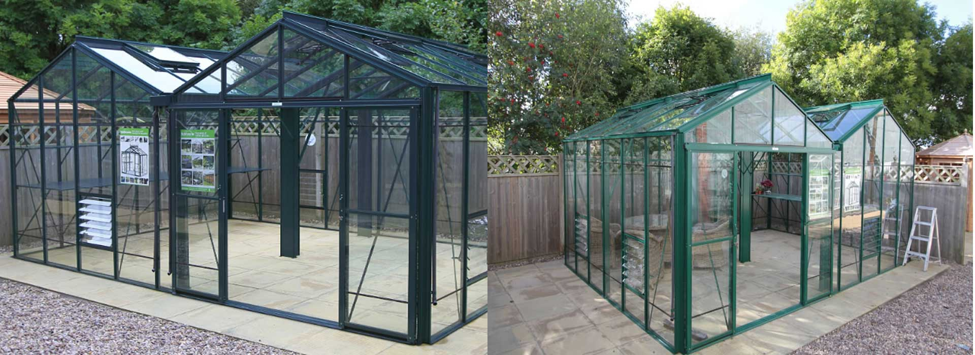 Robinsons Royale ReachDouble Span Greenhouses