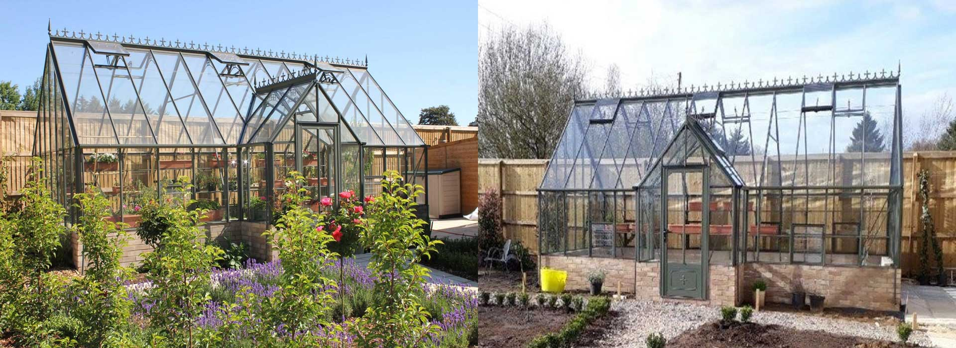 "Robinsons Ramsbury Victorian Greenhouses - 14'8"" wide"