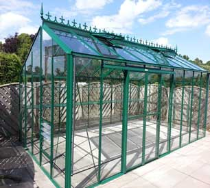 "Robinsons Redoubtable Greenhouses- 10'7"" wide"