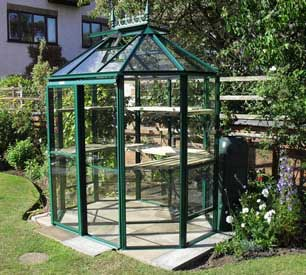 "Robinsons Renaissance Octagonal Greenhouses- 5'7"" wide"