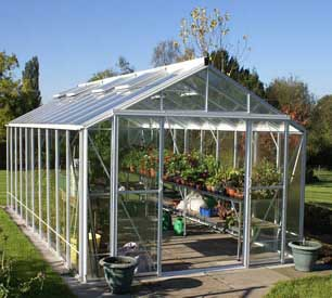 "Robinsons Rosette Greenhouses- 10'7"" wide"