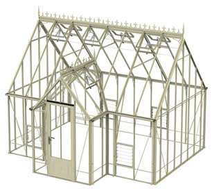 Robinsons Rookley Victorian Greenhouse