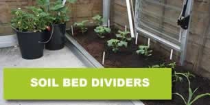 Greenhouse Soil Bed Dividers